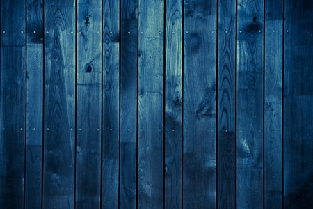 Dark Blue Wood Background. Blue Painted Wood Background.