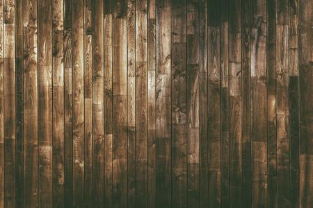 Im Alter von Holzbohlen Hintergrund. Dark Brown Holz Textur.