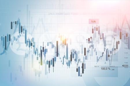 Forex obchodování Index koncept pozadí obrázku. Finanční zázemí. Reklamní fotografie
