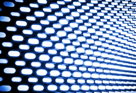 brightness: Abstract Lights Motion Backdrop. Light Dots in Motion Background Abstraction.