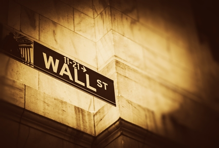bank of america: The Wall Street Place. Lower Manhattan, New York United States of America. Famous Financial District Wall Street