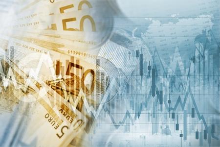 fund world: European Union Euro Money Conceptual Graphic. Forex Euro Trading