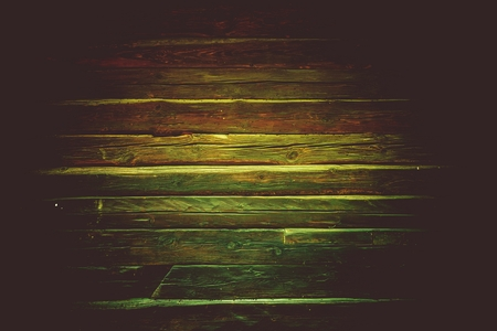 reclaimed: Old Reclaimed Wood Wall Photo Background. Dark Aged Logs Backdrop.