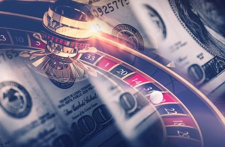 american roulette: Casino Games Roulette Concept. Las Vegas Gambling Concept.