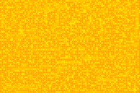 Yellow Dots Pattern Background. Abstract Yellow Orange Backdrop Illustration.