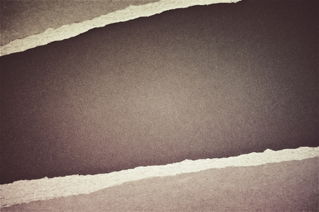 brown background: Brown Torn Paper Background. Stock Photo