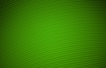 Simple Green Background Illustration with Curved Lines. Stock Photo