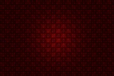 Floral Burgundy Background Pattern wit Light Spot Light in the Center. Banco de Imagens