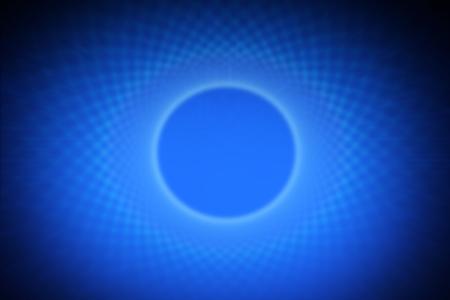 Blue Aura Concept Background Illustration.