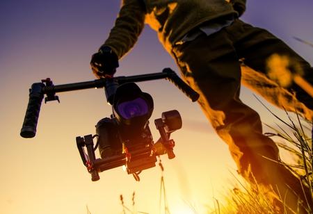 Digital Video Camera Gimbal Stabilization.