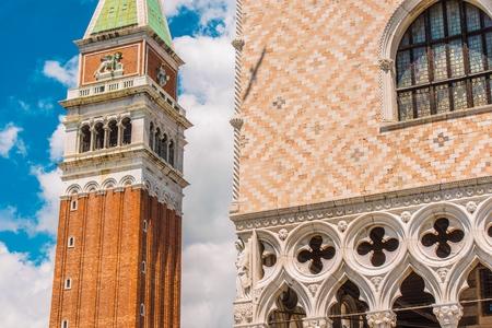 Venetian Piece of Architecture. Venice, Italy.