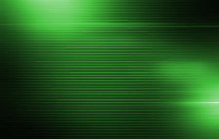 Green Stripes Background with Light Spot Elements. Abstract Green Backdrop