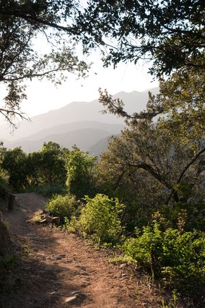 gabriel: Sunset Trail in the San Gabriel Mountains above Los Angeles