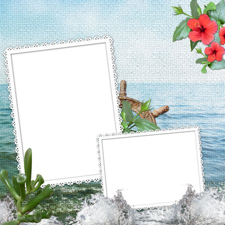 double page: summer  background 1
