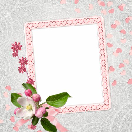 background with frame  photo