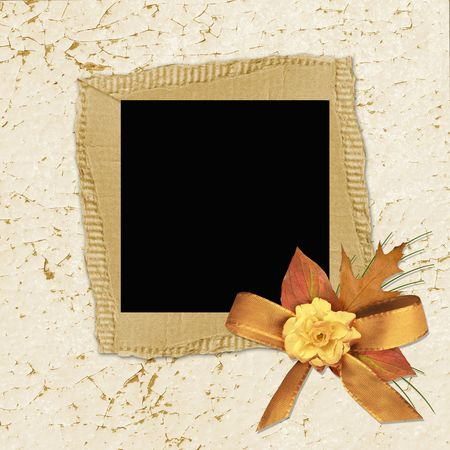 Vintage paper with flowers Stock Photo - 6392889