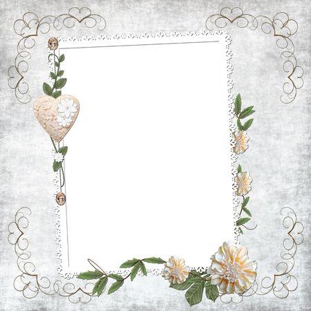 wedding frame: Wedding background
