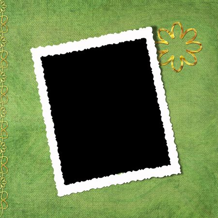Abstract background with frame photo