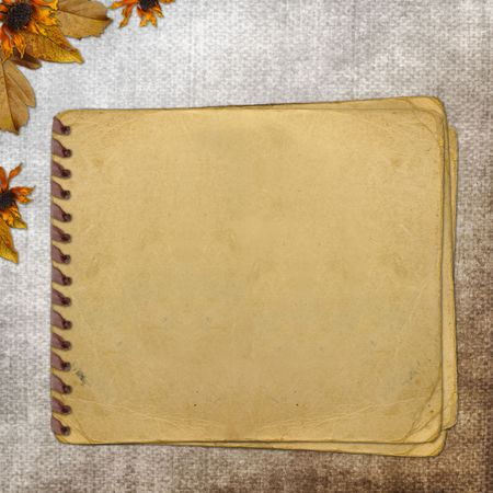 Grunge paper for information in scrapbooking style  Stock Photo - 6423394