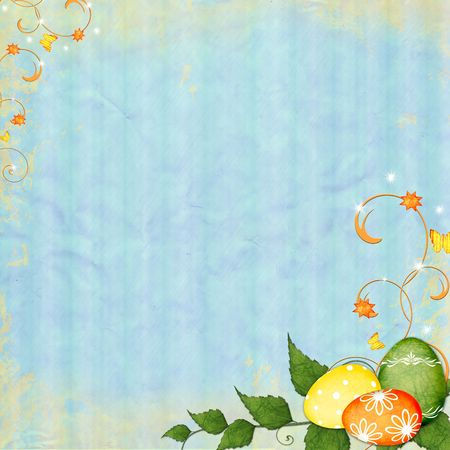 Spring or Easter background photo