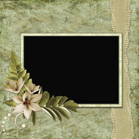 Framework for invitation or congratulation. Stock Photo - 6468053