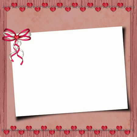 blank note paper on textured background Stock Photo - 6606241