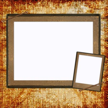 background with frames Stock Photo - 6606249