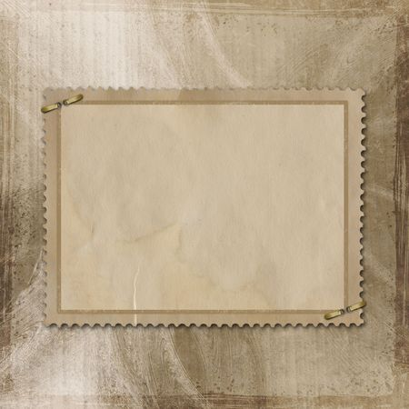 old paper on textured background Stock Photo - 6655182