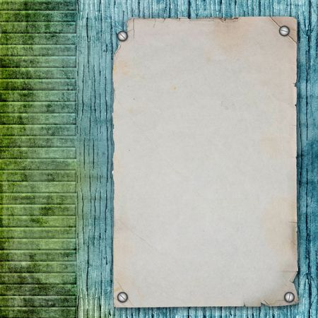 blank note paper on textured background photo
