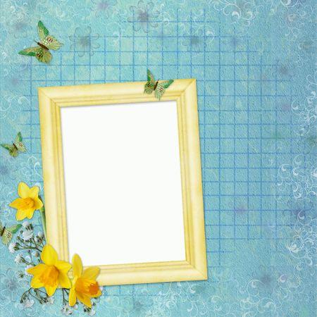 Framework for photo or invitation  photo