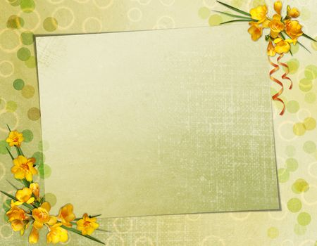 lacet: Greeting Card Stock Photo