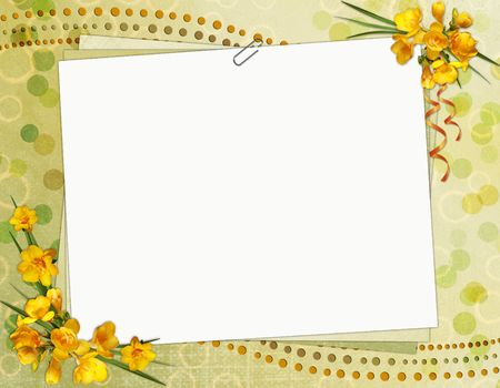 memory board: Greeting Card Stock Photo