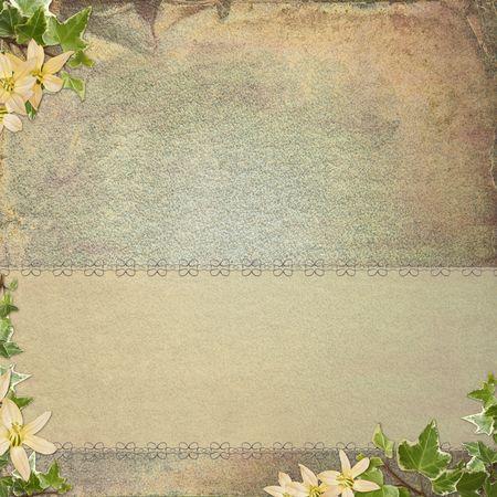 Vintage background  for invitation Stock Photo - 6825706