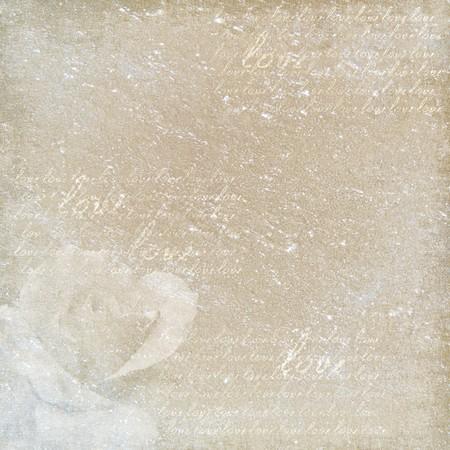 wedding backdrop: decorativo vintage carta  Archivio Fotografico