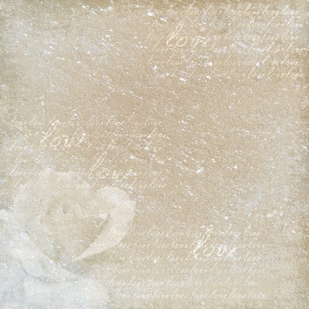 love wallpaper: papel decorativo de cosecha Foto de archivo