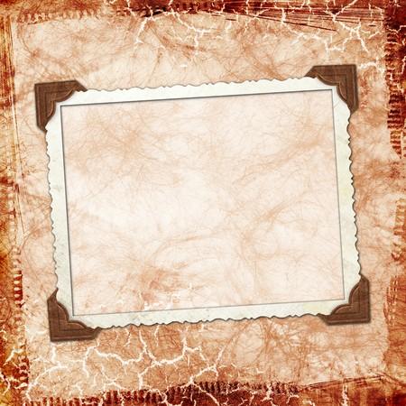 Framework for invitation or congratulation. Stock Photo