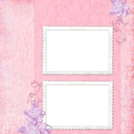 Elegant  greeting card photo