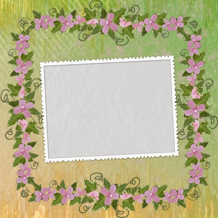 Framework for invitation or congratulation. Stock Photo - 8306196