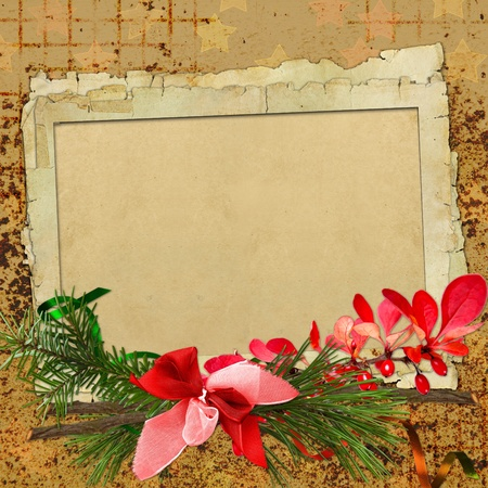 merry christmas card photo