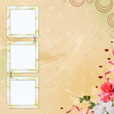 Framework for photo or congratulation photo