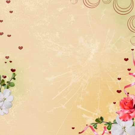 Background for congratulation  card photo