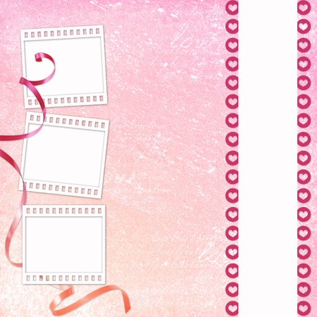 Abstract background for invitation and photo photo