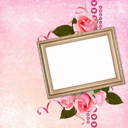 Framework for paper design photo