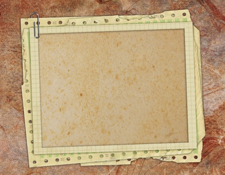 old diary: vintage grunge texture and background
