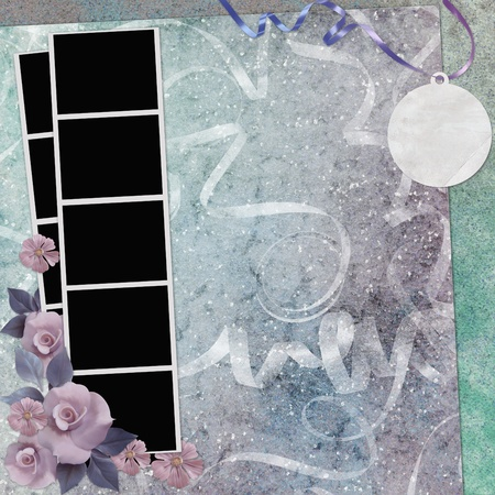lacet: Abstract background for invitation and photo.                Stock Photo