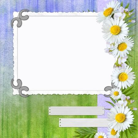 Framework for photo or congratulation. photo