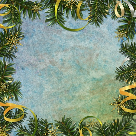 lacet: Abstract christmas background Stock Photo