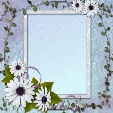 photo frame corner: Framework for photo or congratulation.