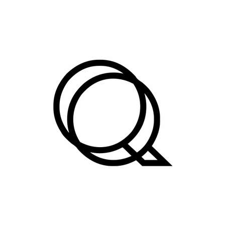 Alphabet initial logo letter symbol