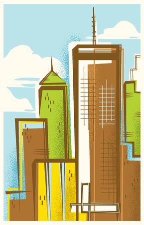 Vintage Travel Poster of Atlanta